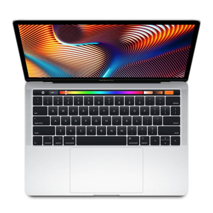 "APPLE MacBook Pro Retina 13"" Touch Bar, Silber, i7, 8 GB RAM, 2 TB Flash, 2018"