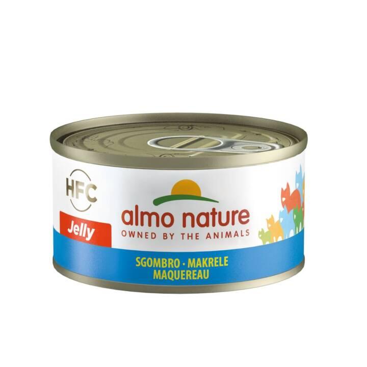 ALMO NATURE HFC Jelly (Adulte, 70 g, Maquereau)