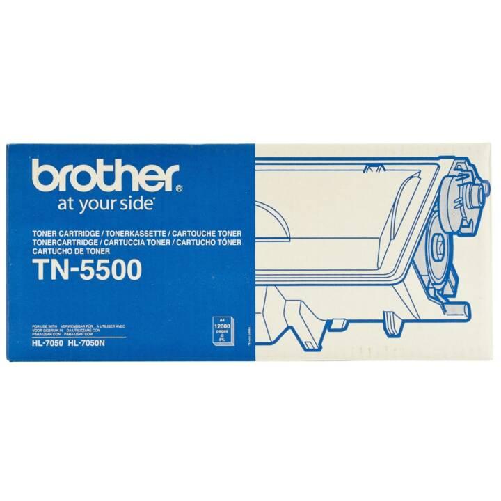 BROTHER TN5500 (Einzeltoner, Schwarz)