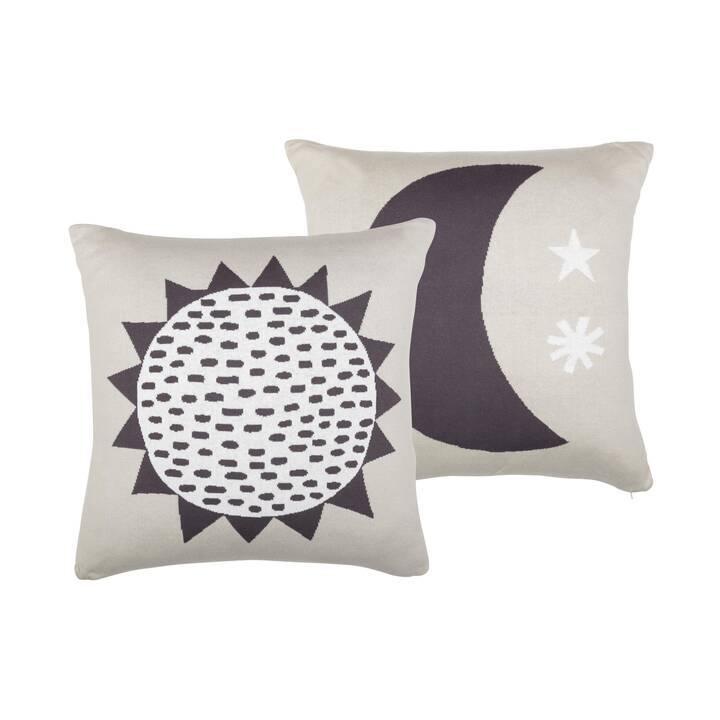 SÖDAHL Cuscino decorazione Sun and Moon (Universo, 50 cm x 50 cm)