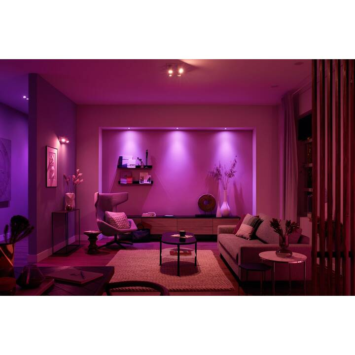 PHILIPS Spot light Hue Argenta White and Color Ambience BT (LED, 26 W)