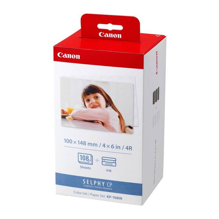 CANON KP-108IN Druckkassette/Papier-Set Selphy