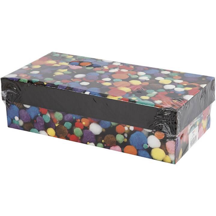 CREATIV COMPANY Pompon (Multicolore, 720 pièce)