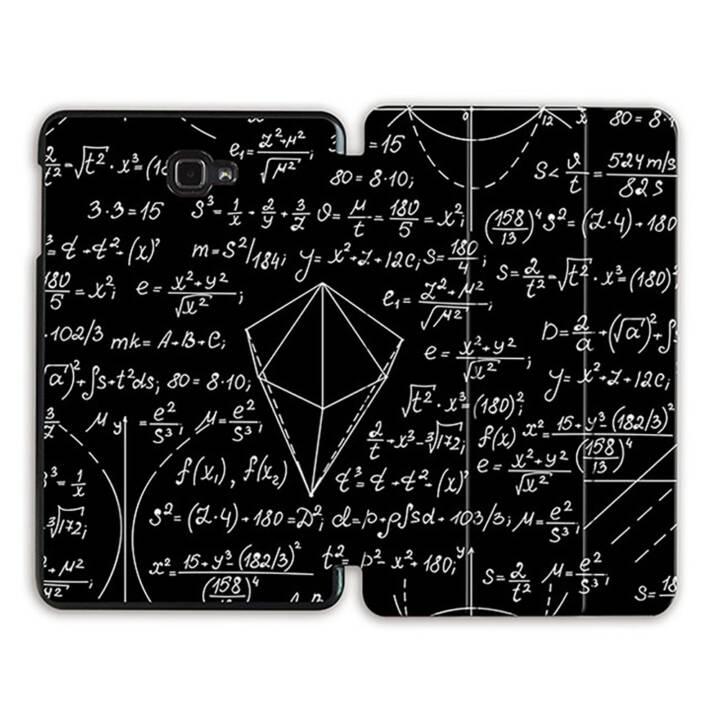 """EG MTT Tablet Tasche mit Smart faltbare Abdeckung für Samsung Galaxy Tab A 10.1"""" (2016)- Science Formula"""