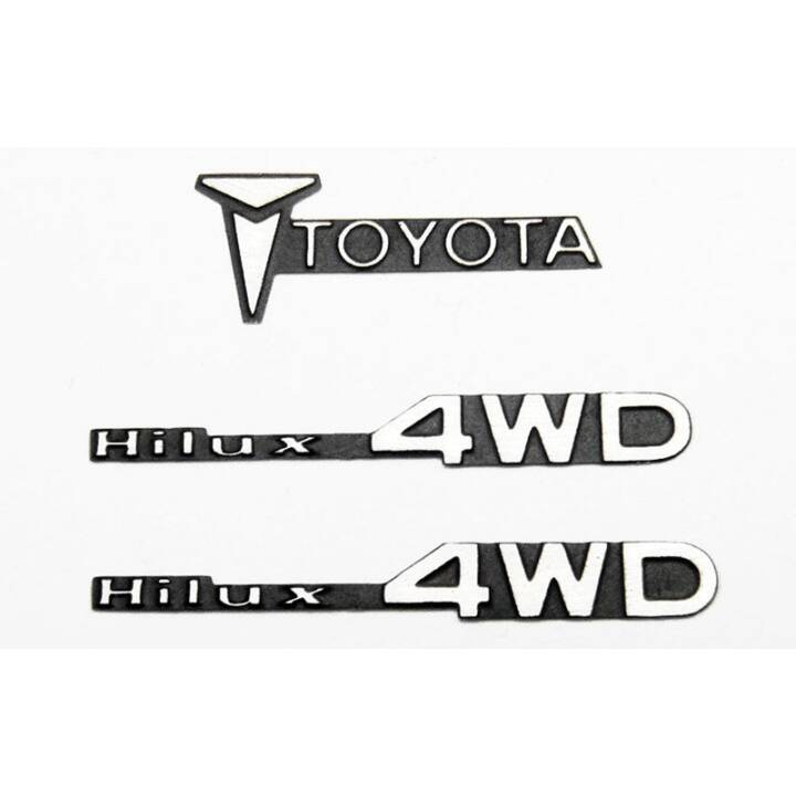 CCHand Toyota Hilux Emblem Set Massstab