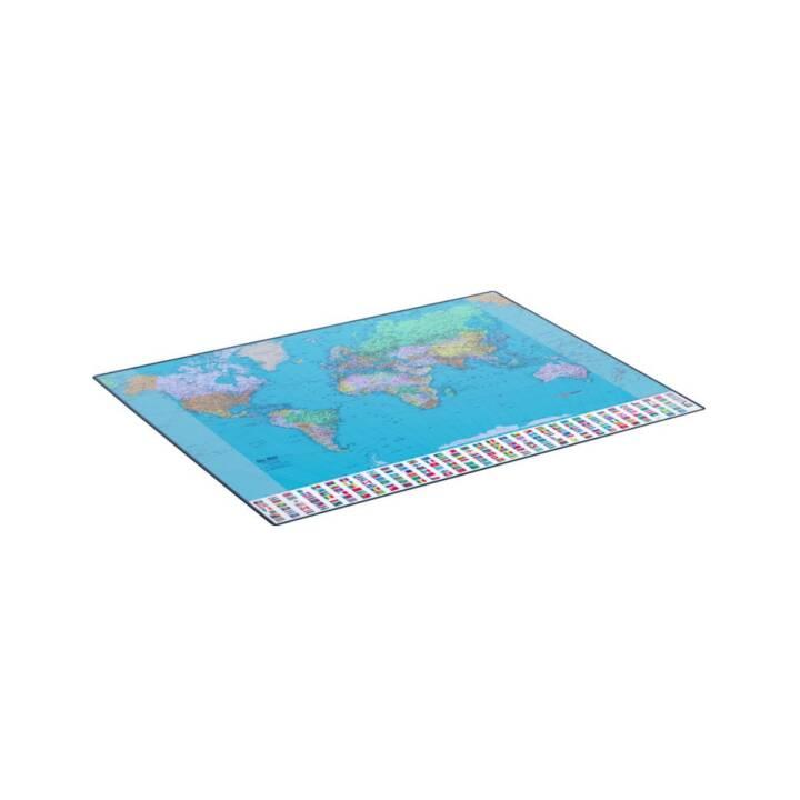 HANSA GeoPad World (EN), 65 x 50 cm
