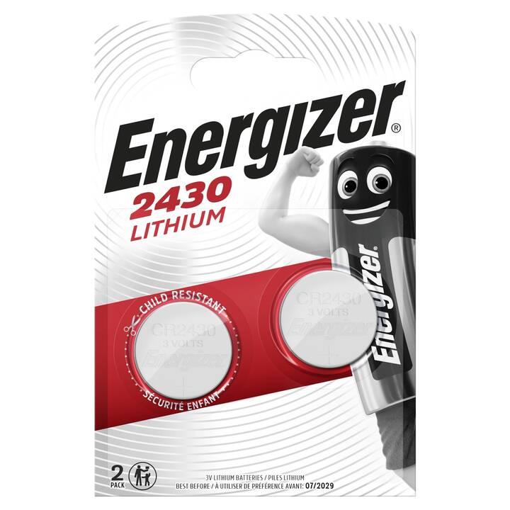 ENERGIZER Batterie (CR2430, 2 Stück)