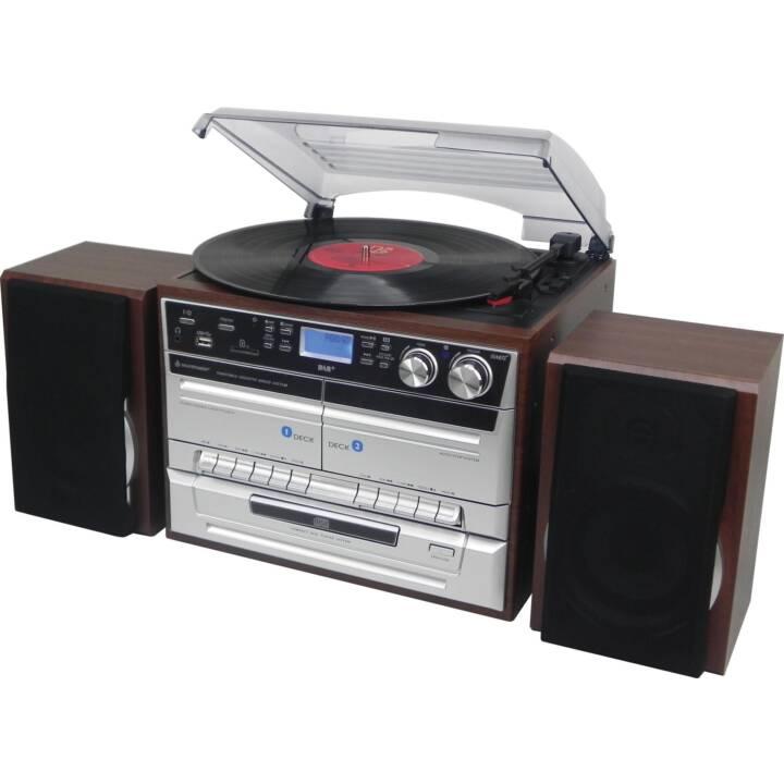 SOUNDMASTER MCD5550DBR (Braun, Bluetooth, Radio)