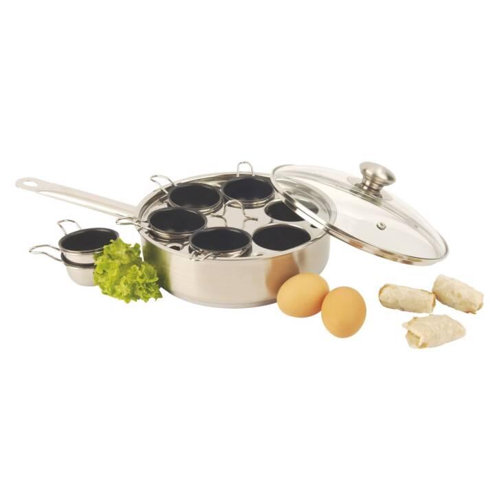 DEMEYERE padella gourmet con coperchio in Pirex 6 contenitore 22 cm