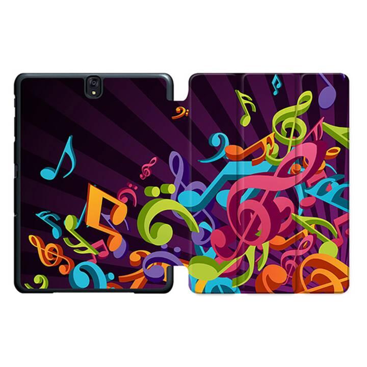 """EG MTT Tablet Bag con coperchio pieghevole Smart per Samsung Galaxy Tab S3 9.7"""" MTT - Spartito musicale"""