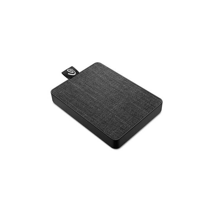 SEAGATE One Touch (USB 3.0, 500 GB, Grau)