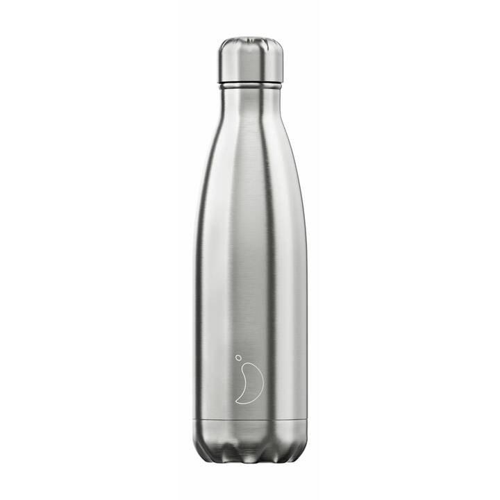 CHILLY'S Borraccia Stainless Steel (0.5 l, Argento)