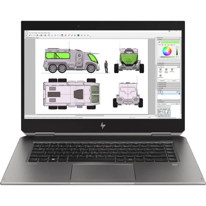 "HP ZBook Studio (15.6"", Intel Core i7, 16 GB RAM, 512 GB SSD)"