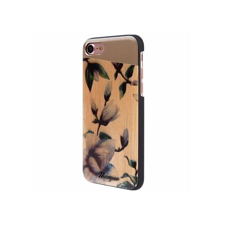 UUNIQUE Backcover Mangolia (iPhone SE, iPhone 8, iPhone 7, iPhone 6s, iPhone 6, Multicolore)