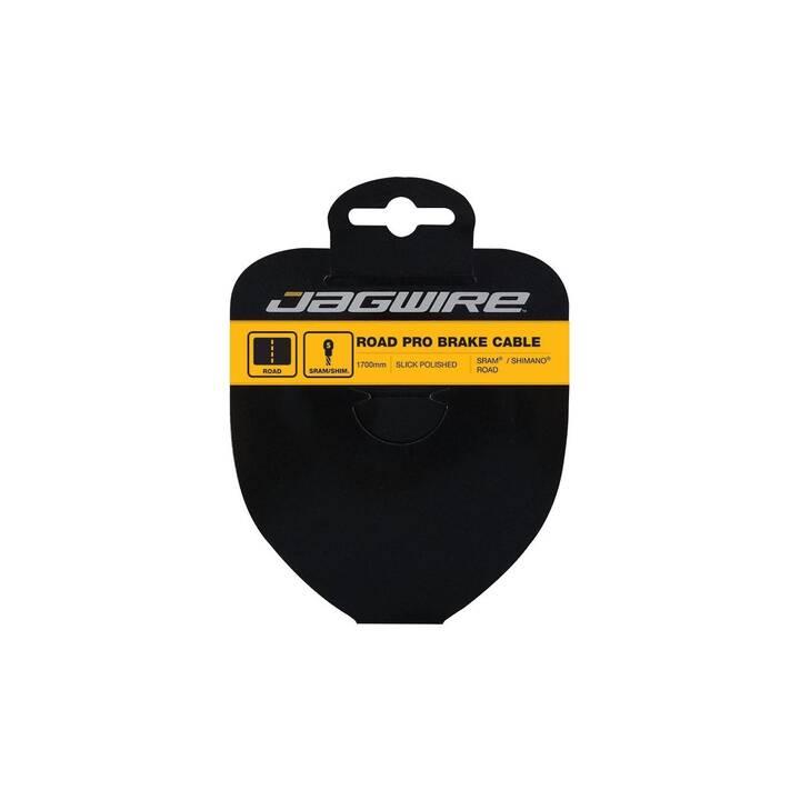 JAGWIRE Câble de frein Road Slick Stainless Pro Polish SRAM/Shimano (200 mm, Mécaniques)