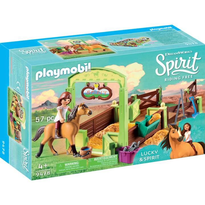 """PLAYMOBIL Spirit Riding Free Pferdebox """"Lucky & Spirit"""" (9478)"""