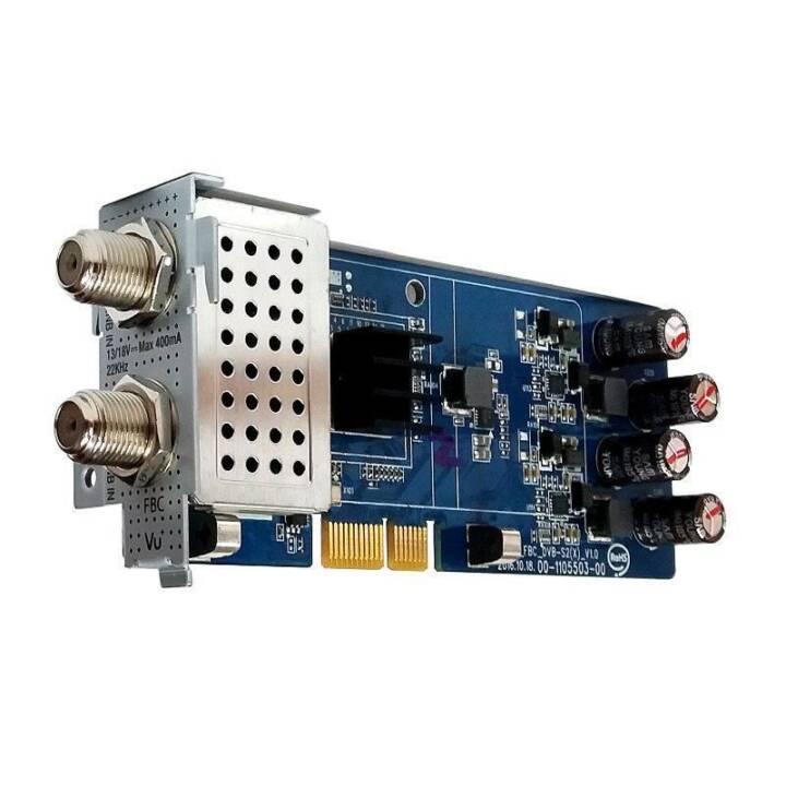VU+ DVB-S2 /S2X FBC Modulo ricevitore