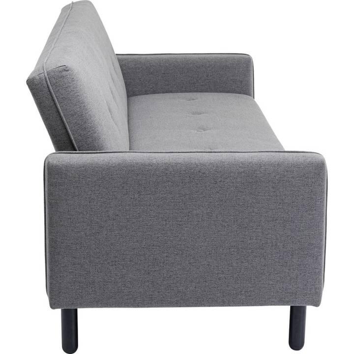 KARE Sofa (Polyester, Grau, 240 cm x 84 cm)