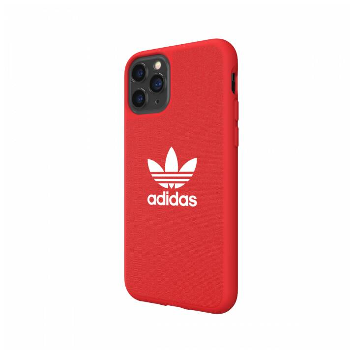 ADIDAS Backcover Moulded Canvas (iPhone 11 Pro, Rosso)