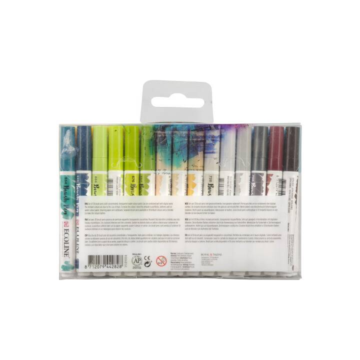TALENS Pennarello indelebile Ecoline (Multicolore, 30 pezzo)