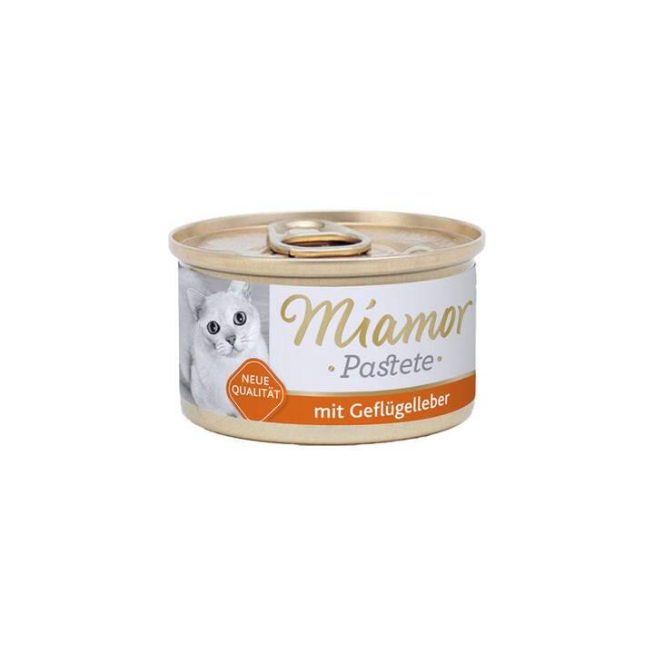 MIAMOR Pastete (Adulto, 85 g, Pollame)