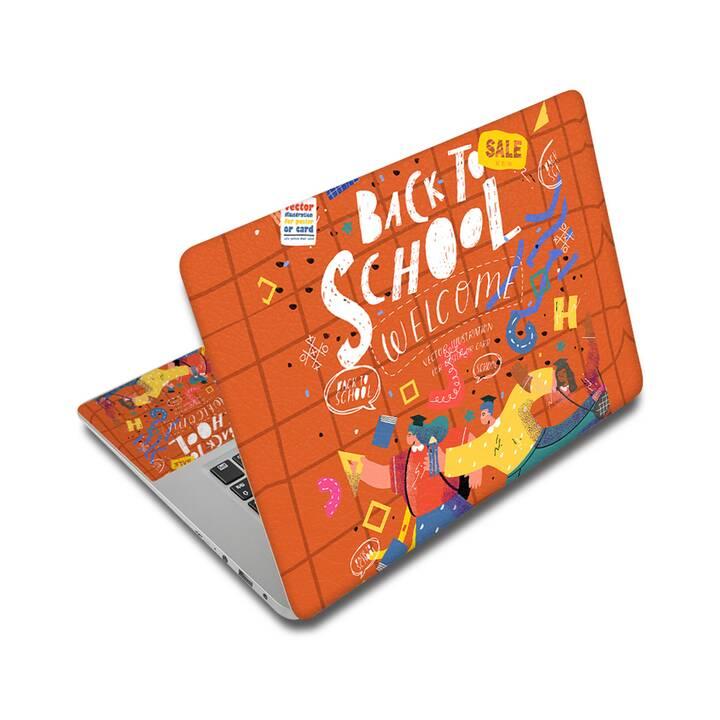 """EG adesivo per laptop 15"""" - ritorno a scuola"""