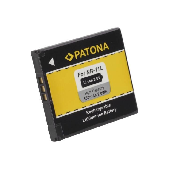 PATONA Akku NB-11L, 550 mAh / 3.6V