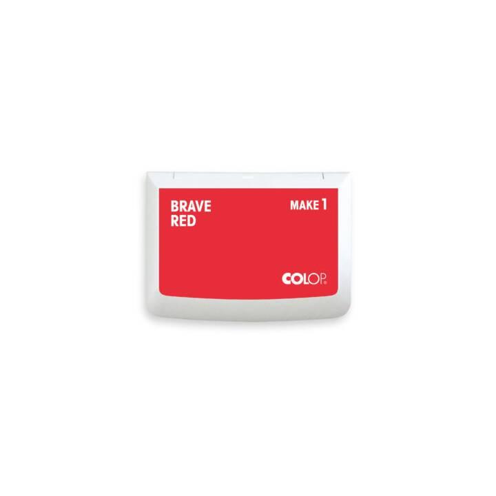COLOP Cuscinetto per timbro (Rosso, 1 pezzo)
