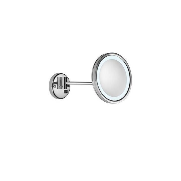VALERA Kosmetikspiegel Optima Light One (Silber)
