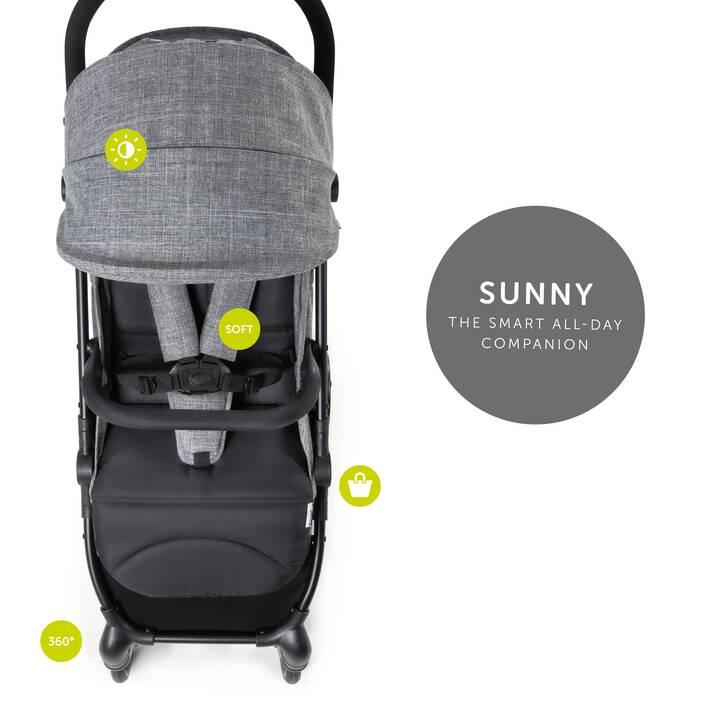 HAUCK Buggy Sunny (Melange grey/black)