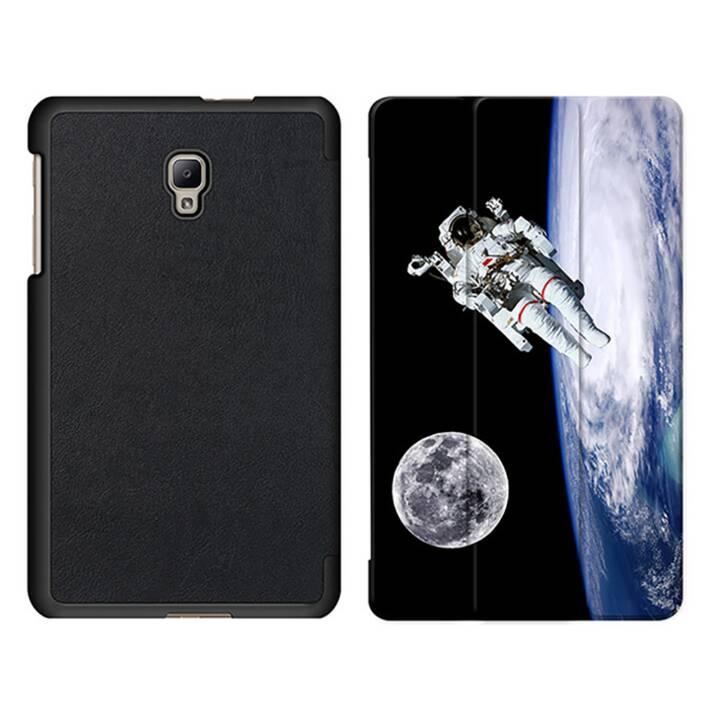 """EG MTT Sacoche à comprimés avec housse Smart pliable pour Samsung Galaxy Tab A 8"""" (2017) - Astronaut"""