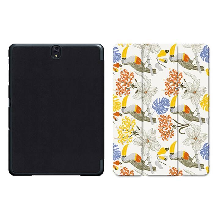 "EG MTT Tablet Bag con coperchio pieghevole Smart per Samsung Galaxy Tab S3 9.7"" MTT - Cartoon bird"