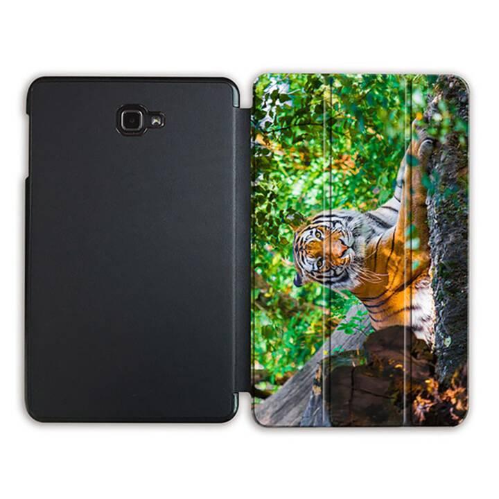 """EG MTT Tablet Tasche mit Smart faltbare Abdeckung für Samsung Galaxy Tab A 10.1"""" (2016)- Tiger"""