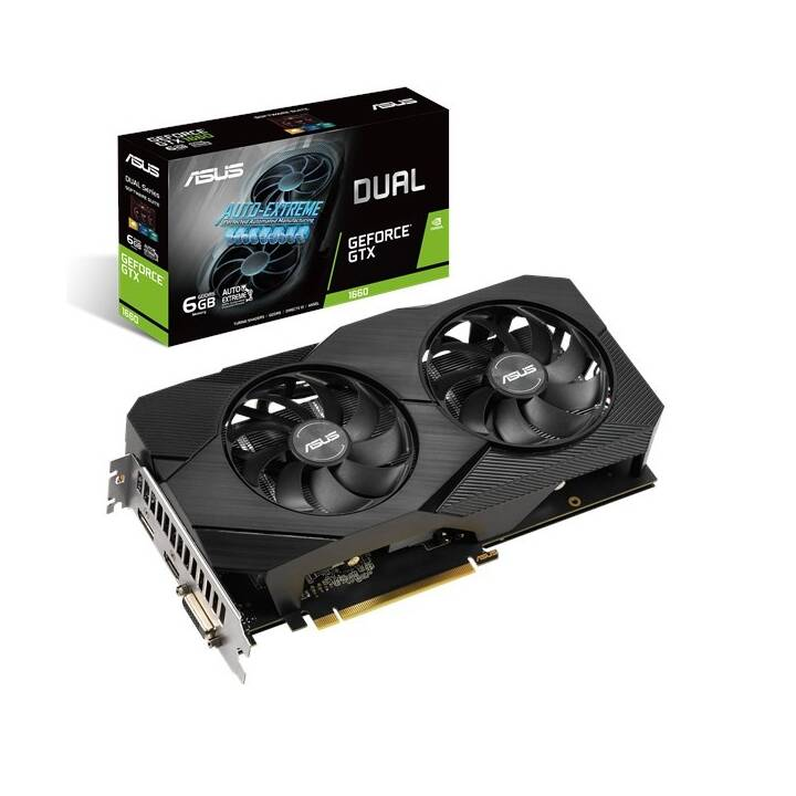 ASUS Nvidia GeForce GTX 1660 (6 GB, Gaming)
