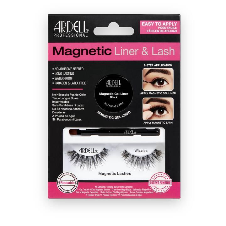 ARDELL Magnetic Liner & Lash - Wispies (1 Paar)