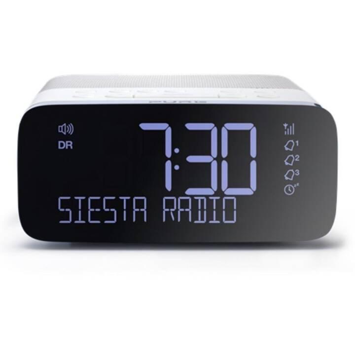 PURE Siesta Rise Radio-réveil (Noir, Blanc)