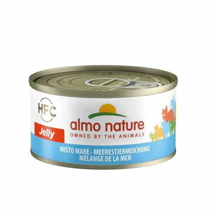 ALMO NATURE HFC Jelly (Adulte, 70 g, Poisson, Fruits de mer)