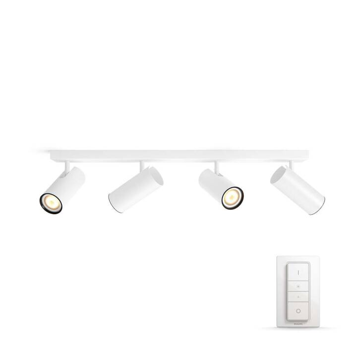 PHILIPS HUE Buratto 4 Spot (Weiss)
