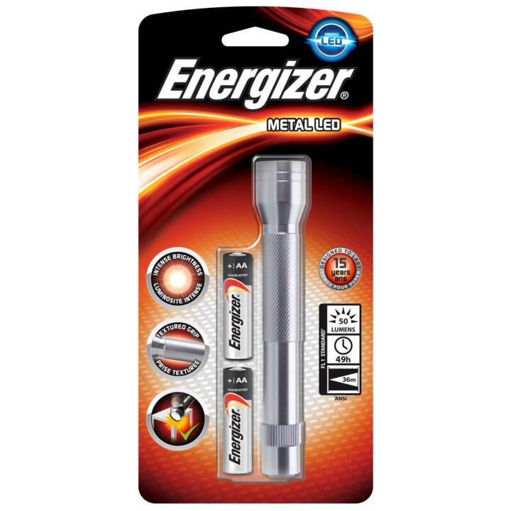 ENERGIZER LED métallique