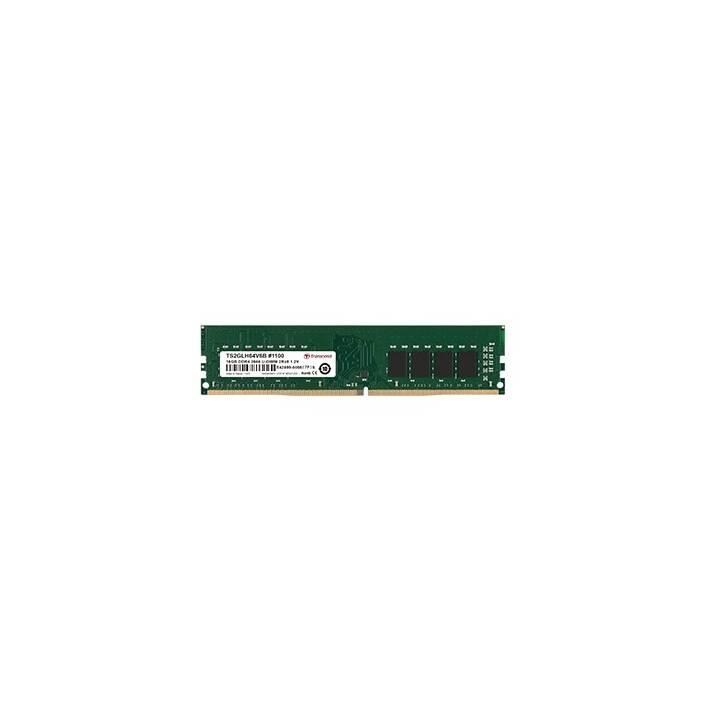 TRANSCEND TS512MLH64V6D (1 x 4 GB, DDR4-2666, DIMM 288-Pin)