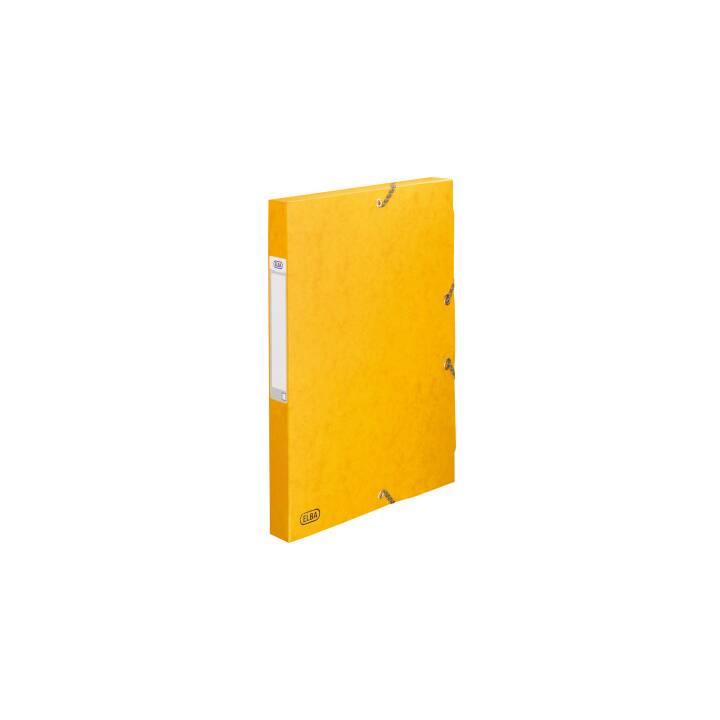 FAVORIT SPA Eurobox 2,5 cm A4 jaune