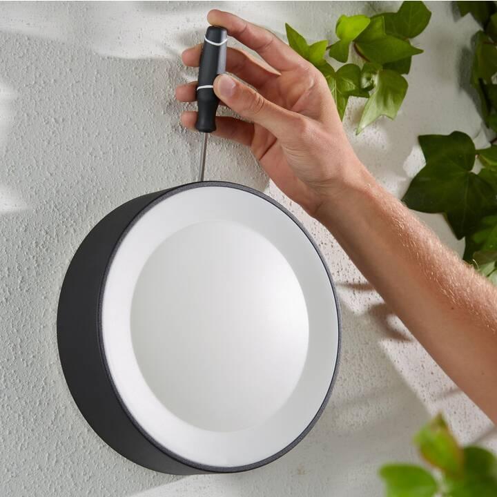 PHILIPS HUE Daylo Luminaire mural (LED incorporé, 15 W, Noir)