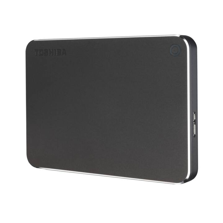 TOSHIBA Canvio Premium (USB 3.0, 2 TB, Grigio cupo)