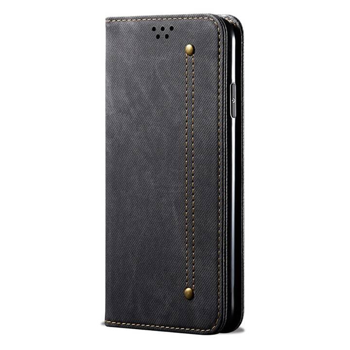 """EG Mornrise custodia a portafoglio per Xiaomi Mi Note 10 6.47 """"(2020) - nera"""
