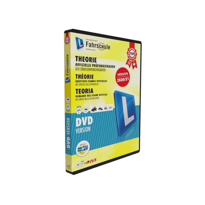 CH-Fahrschule DVD Version Kat. F/G, M 2020/21 (Italiano, Tedesco, Francese)