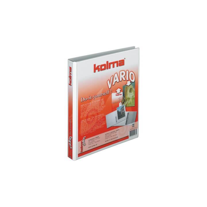 KOLMA RACER Showbook Vario Vario universale A4 bianco 4-Ring 20 mm