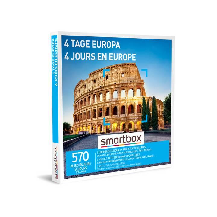 SMARTBOX 4 giorni in Europa