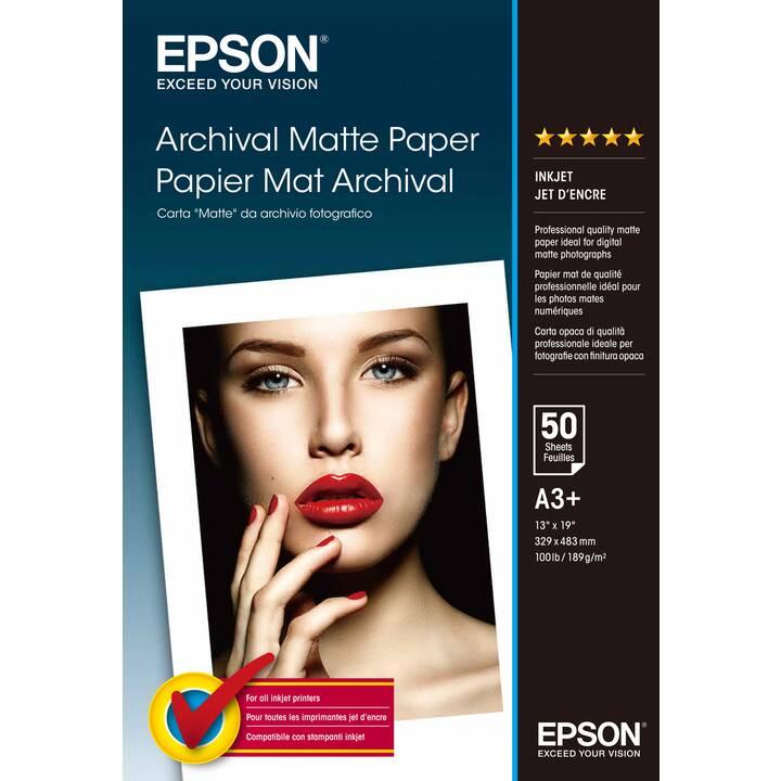 EPSON Papier photo (A3+, 50 feuille)