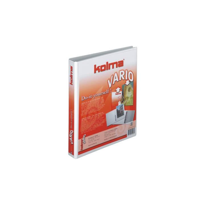 KOLMA RACER Ringbuch Vario Universal A4 weiss 2-Ring 25mm