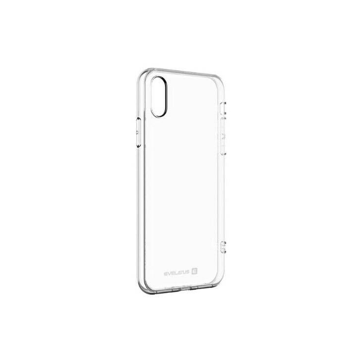 EVELATUS Backcover TPU (Galaxy J6 2018, Transparent)